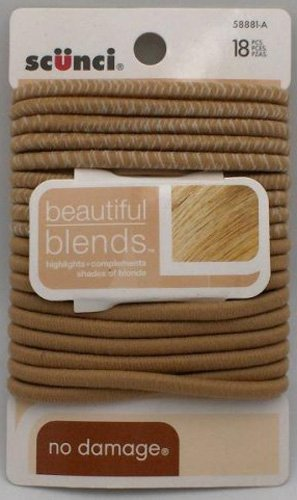 Scunci Beautiful Blends Hair Ties ~3 Pack