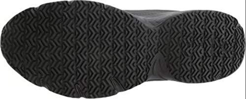 Fila mens Memory Workshift-m cross trainer shoes, Black/Black/Black, 12 X-Wide US