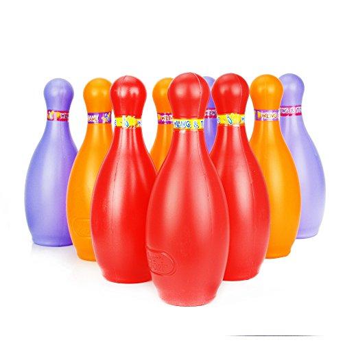 large bowling pin set - 6
