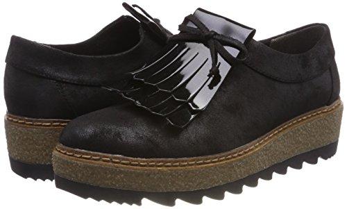 001 Sandals black Women''s Platform Tamaris Black 24733 4ZU0nnq