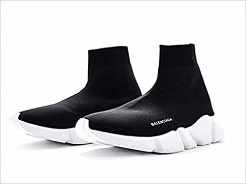 d4200ae8ea84 Lyst - Balenciaga Men s Speed Mid-top Trainer Sock Sneakers in Black for  Men. Balenciaga Women Men Fashion Breathable Sneakers Running Shoes socks  boots