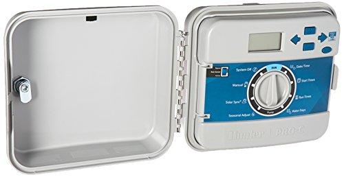 Irrigation Controller Solar (Hunter Sprinkler PCC1200 PCC 12-Station Outdoor Irrigation Controller)