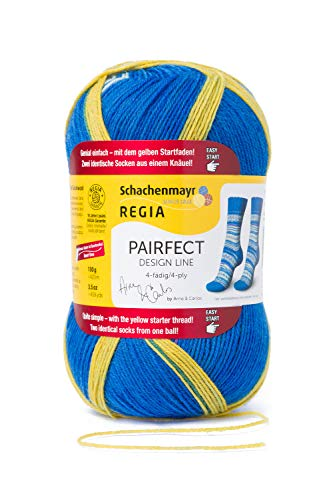 (Regia Pairfect Design Line 4-Ply by Arne & Carlos Sock Yarn (9138 - Island))