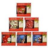Christmas House Gift-Boxed Rounded Stoneware Mug, 14 oz. Assorted Styles
