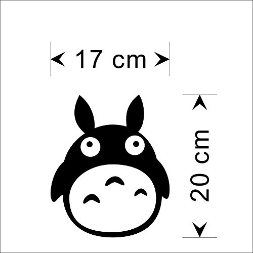 Cute Totoro sticker 7.5
