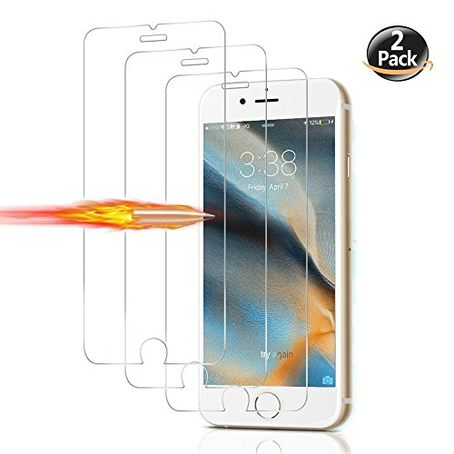 IPhone 8 Plus Screen Protector Tempered Glass Screen Protectors [3D Touch] 0.25mm Screen Protector Glass for...