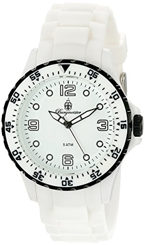 Burgmeister Men's BM603-586E White Sport Analog Watch
