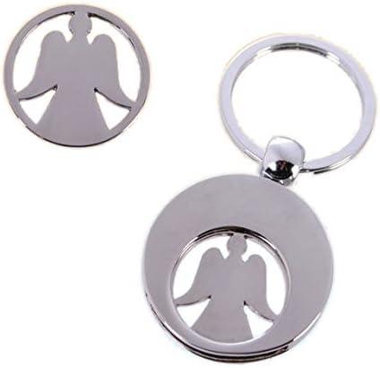 Schlüsselanhänger Schutzengel Mit Einkaufswagenchip Spielzeug