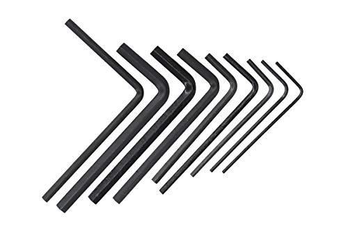 - 9pcs Guitar Bass Neck Bridge Screw Adjustment Truss Rod Wrench Repair Tool Set Kit 1.5mm / 2.0mm / 2.5mm / 3.0mm / 4.0mm / 5.0mm, 1/20'', 1/8'', 3/16''