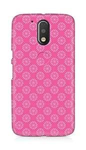 Amez designer printed 3d premium high quality back case cover for Motorola Moto G4 Plus (Flower Pattern2)