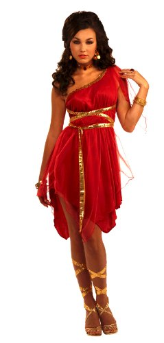 Forum Novelties Roman Goddess Costume, Red, One Size