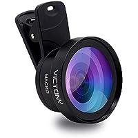 VICTONY 2 in 1 Phone Lens, Phone Camera Lens Kit Clip-On...
