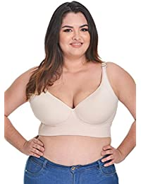 Full Support Bra Cup D for Large Bust Bra for Underarm Fat Cup D