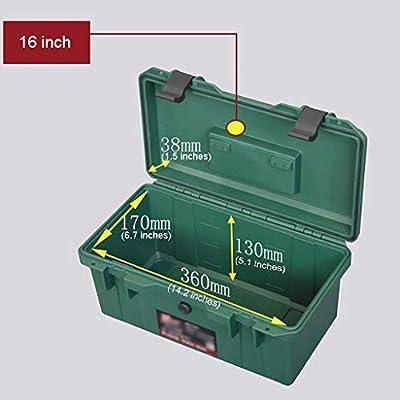 Caja de Herramientas Multiusos 16 Caja de herramientas portátil de ...