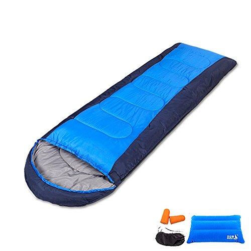 COCO Im Freien kampierende Schlafsack-tragbarer warmer Frühlings-Sommer-Herbst-einzelne doppelte nähende Reise-Ausrüstung ( größe   1.8kg )