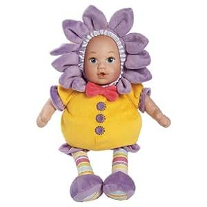 "Adora Snuggletime Blooms 13"" Plush Doll, Yellow"