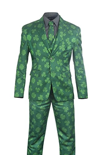 Get Lucky Leprechaun Costume (Stir Clothing Co. Get Lucky Mens Irish Party Costume Suit (50))