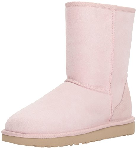 UGG Women's Classic Short II Fashion Boot, Seashell Pink, 8 M US by UGG
