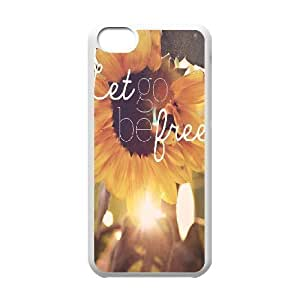 Cool Painting Be Free Customized Cover Case for Iphone 5C,custom phone case case580783