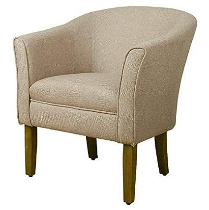 Amazon.com: Hebel Modern Barrel Accent Chair | Model CCNTCHR ...