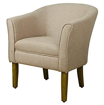 Amazon.com: Hebel Modern Barrel Accent Chair | Model CCNTCHR ...