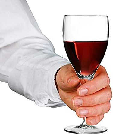 Michelangelo copas de vino tinto 7.75oz/225ml–juego de 6  Luigi Bormioli cristalería, vino tinto Goblets, Michelangelo copas de vino
