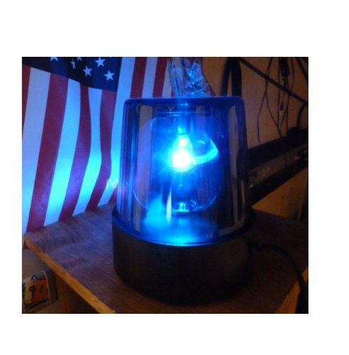 Rhode Island Novelty Blue Police Beacon Light