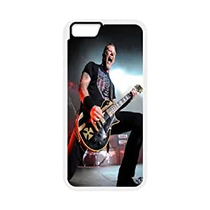 "Band King Metallica James Hetfield Hard Plastic phone Case Cove For Apple Iphone 6,4.7"" screen Cases JWH9187283"