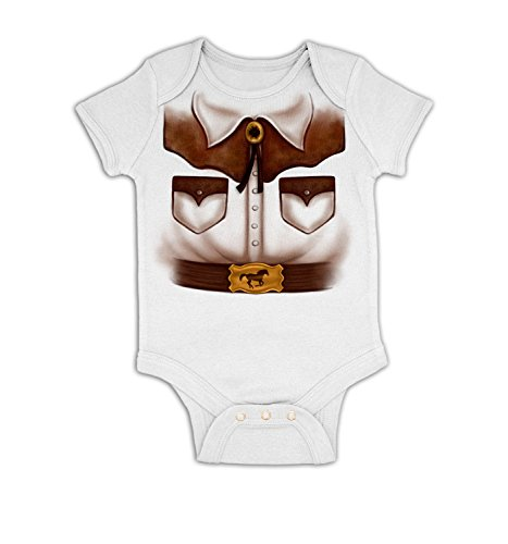 Woody Costume 18-24 Months (Cowboy Costume Baby Grow - White 18 - 24 Months)