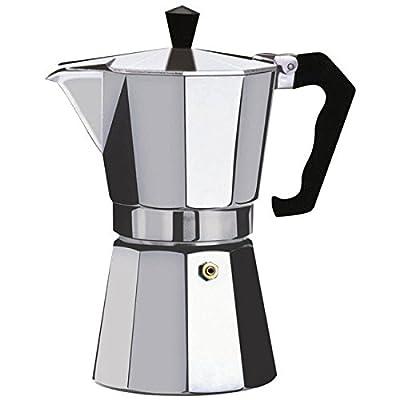Kabalo 150ml (2-cup) Espresso Stove Top Coffee Maker - Continental Moka Percolator Pot Aluminium by Kabalo