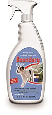 Lambert Kay Boundary Indoor/Outdoor Dog Repellent Pump Spray, 22-Ounce by PetAg Inc.