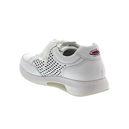 for White Shoes 948 Women Perforations 86 Leather Walking 50 with Rollingsoft Gabor AUfpqp