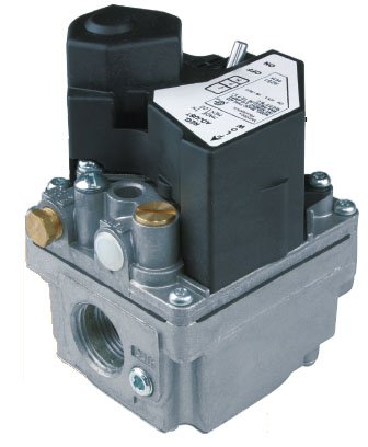 (White-Rodgers 36H33-412 Series 36H Slow Opening Single Stage Opening Natural/Lp Gas Valve, 3/4