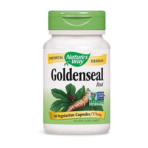 Nature s Way Goldenseal Root, 50 Capsules