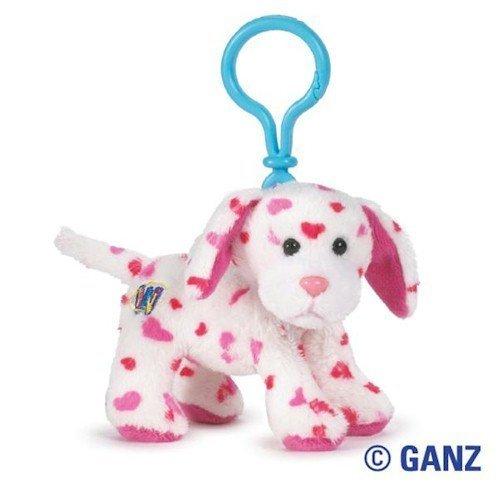 Kinz Clip Klip (Webkinz Virtual Pet Plush - Kinz Klip - LOVE PUPPY)
