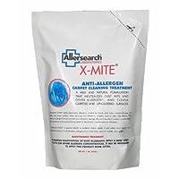 Limpiador de alfombras en polvo anti-alérgeno X-Mite