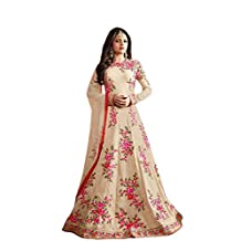 Snreks Collection Cream Color Banglori Fabric Designer Woman Salwar Kameez