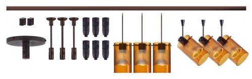 Besa Lighting R12-K08LE-6524EG-BR Scope Spotlights & Pendants LED 8
