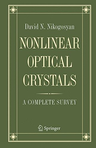 Nonlinear Optical Crystals: A Complete (Vertical Optical Crystal)