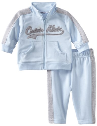 Calvin Klein Baby-Boys Newborn Jacket With Jog Pants