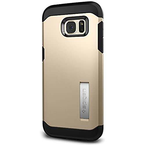 Spigen Tough Armor Galaxy S7 Edge Case with Extreme Heavy Duty Protection and Air Cushion Technology for Samsung Galaxy S7 Edge 2016 - Champagne Gold Sales