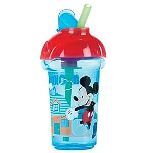 Munchkin Click Lock - Taza con pajita, 9 oz/266 ml, diseño de Mickey, surtido: colores aleatorios