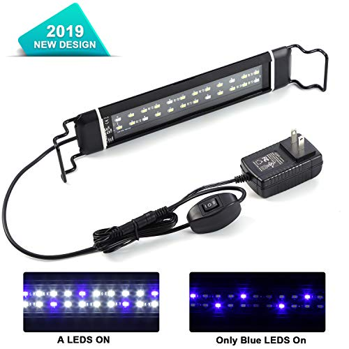 yizen LED Aquarium Light with Extendable Brackets