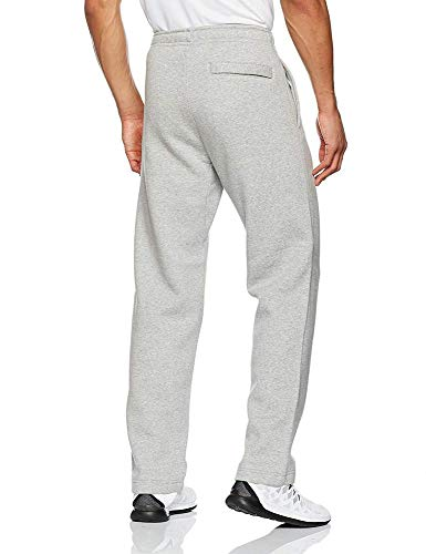 Men's Nike Sportswear Club Sweatpant, Fleece Sweatpants for Men with Pockets, Charcoal Heather/White, XS by Nike (Image #5)