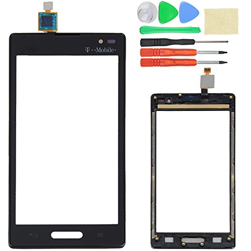 Touch Screen Digitizer + Frame For LG Optimus L9 P769 T-Mobile