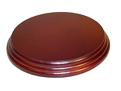 (National Artcraft Wood Display Base is 6