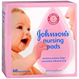 Johnson's Nursing Pads - 60 disposable pads, Pack of 4