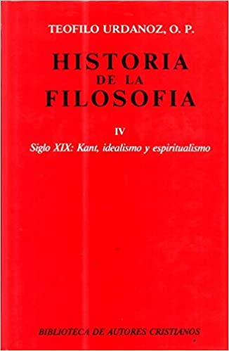 Amazon.com: Historia de la filosofía. IV: Siglo XIX: Kant ...