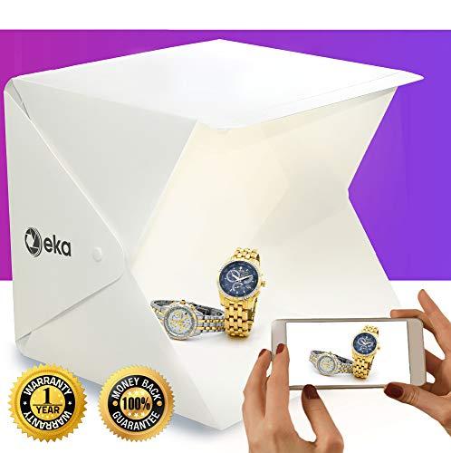 Artist Jewelry Box - Photo box - Lightbox - Portable photo studio - Light box photography - Product photography light box - Photo light box - Light tent - Mini led studio photo box - Product photography kit - Light box