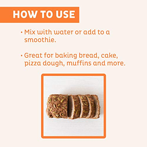 KOS Organic Psyllium Husk Powder | Everyday Fiber Support Psyllium Husk  Powder | Finely Ground for Easy Mixing & Baking (Keto Bread) USDA Organic